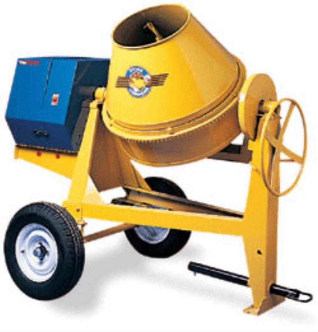 Where to find STONE CONCRETE MIXER TOWABLE in Xenia