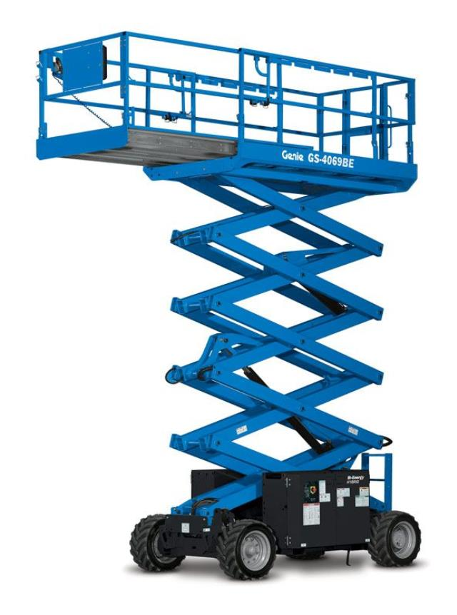 Where to find GENIE SCISSORLIFT OFFROAD 26 FT in Xenia